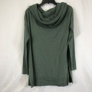 Caslon 3 in 1 Olive Green Long Sweater